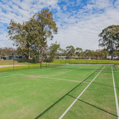 karuah waters estate tennis court retirement affordable living water jetty