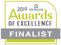 Land Lease Living Industry Association NSW 2019 Awards of Excellence Finalist